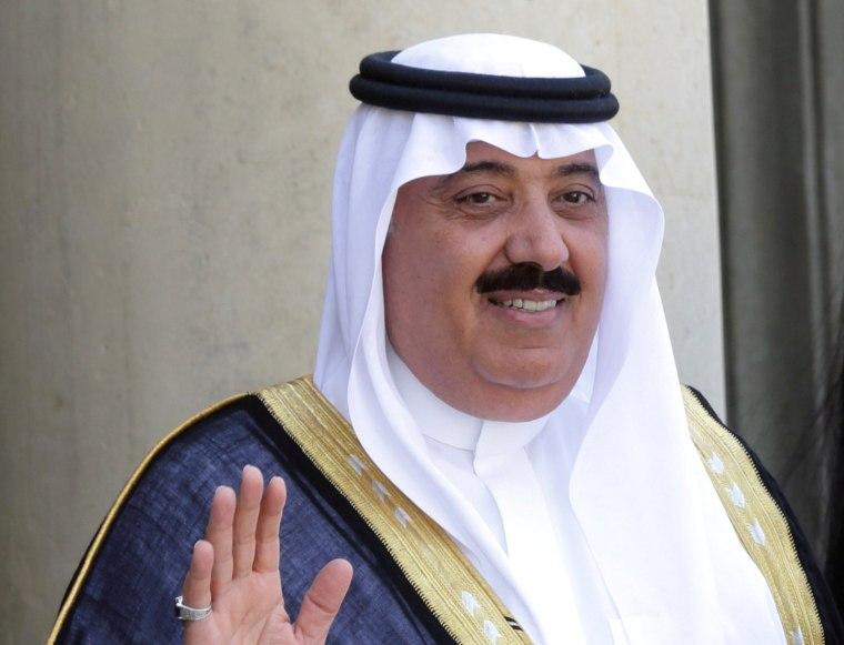 Image: Saudi Arabian Prince Miteb bin Abdullah