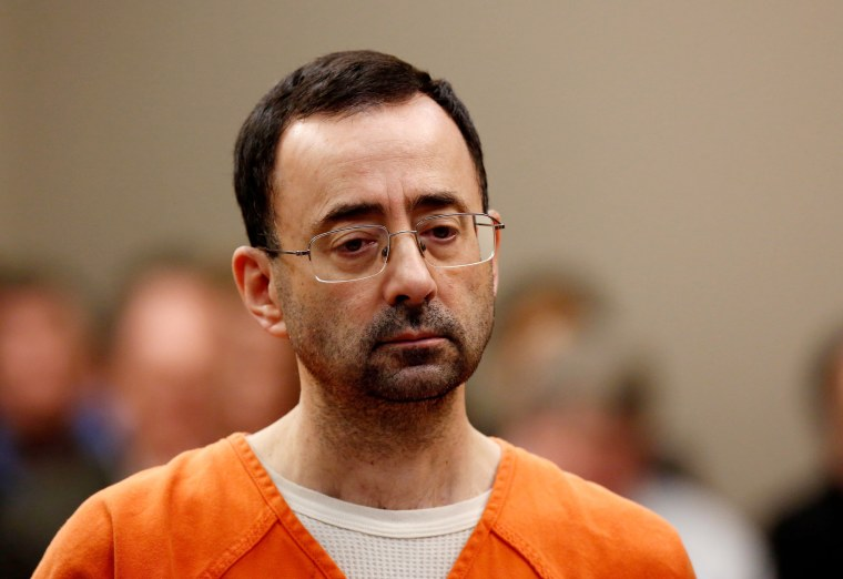 Image: Larry Nassar appears at Ingham County Circuit Court