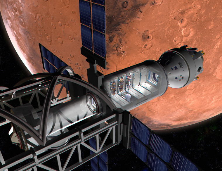 Will Mars colonists snooze their way to the Red Planet?