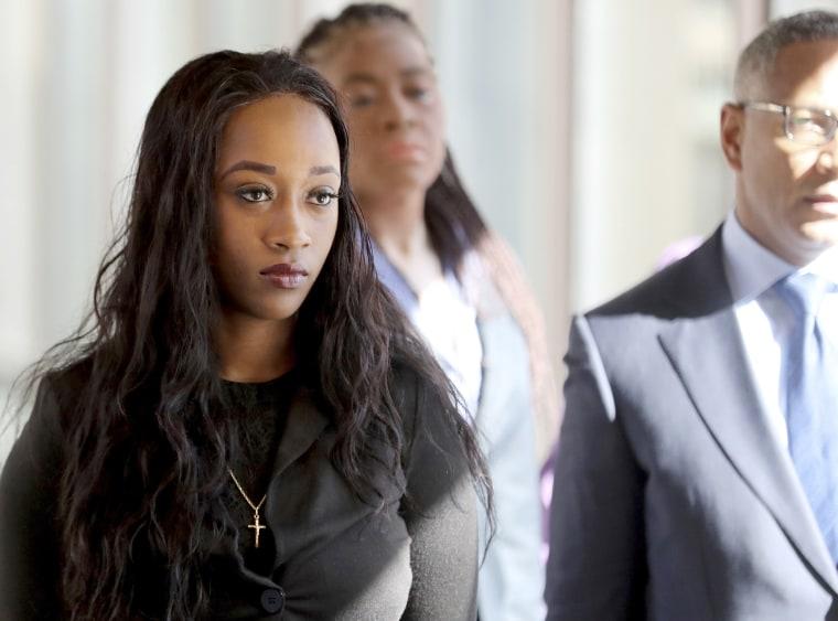 Image: Diamond Reynolds, the girlfriend of Philando Castile