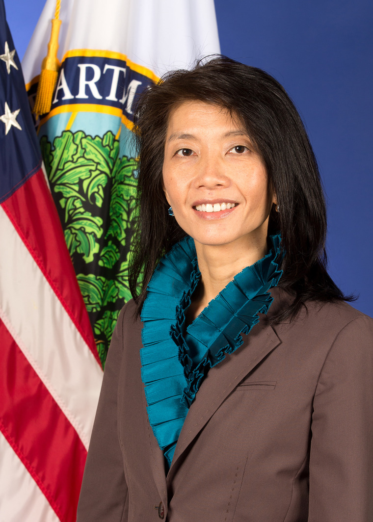 Image: Holly Ham, Executive Director of the White House Initiative on Asian Americans and Pacific Islanders (AAPIs), housed in the U.S. Department of Education in Washington, DC.