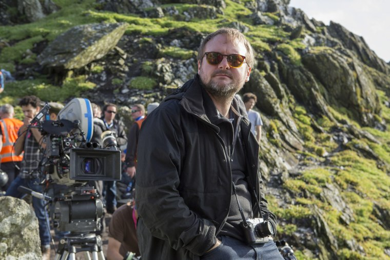 Image: Writer and director Rian Johnson