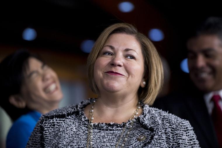 Image: Democratic Caucus Vice Chairwoman Linda Sanchez, D-Calif