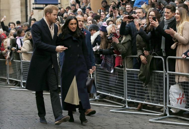 Image: Prince Harry, Meghan Markle