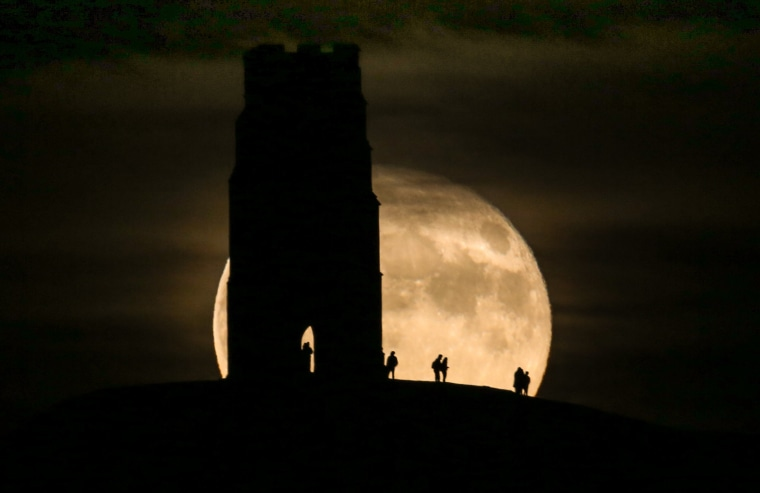 Image: The Festival Of Samhain Is Celebrated In Glastonbury