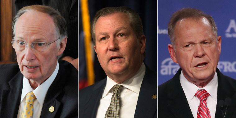 Image: Composite Alabama Politicians
