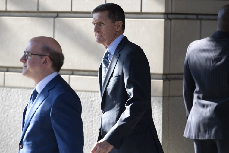Image: Former National Security Advisor Michael Flynn