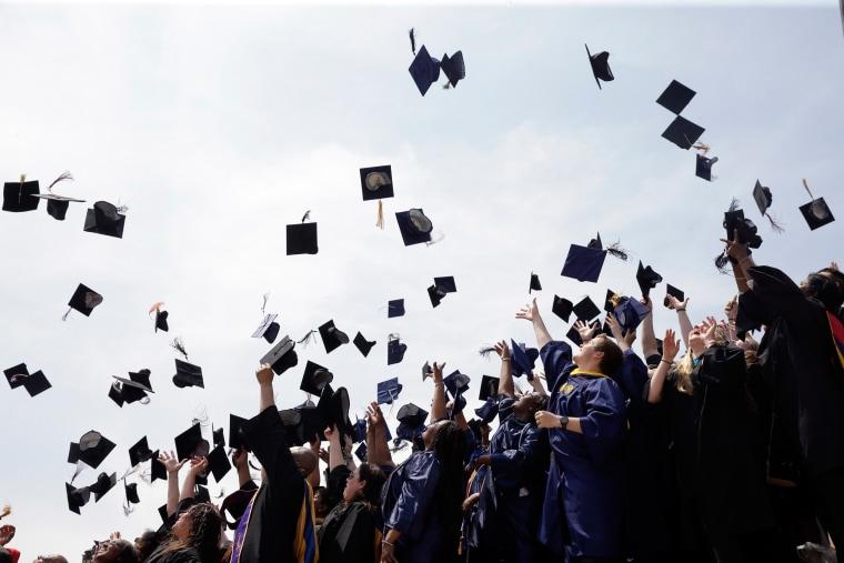 Image: College graduation