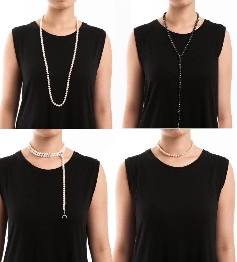 Anthony Dreyer Pearl Necklace