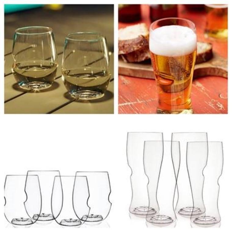 govino glasses on table 2