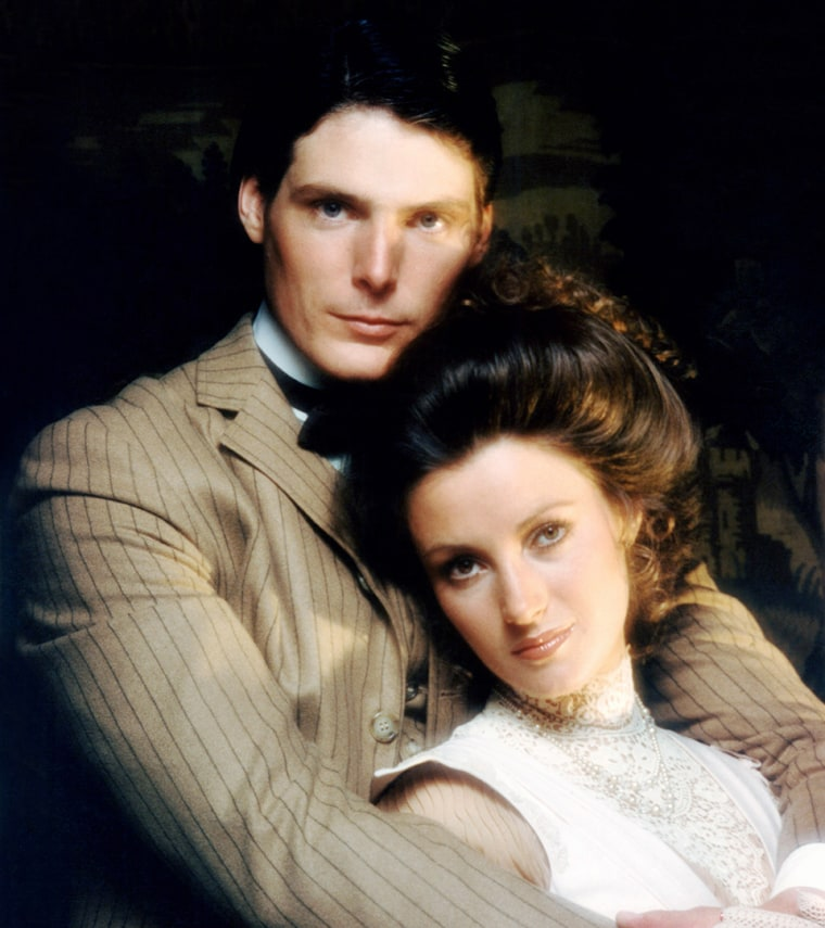 SOMEWHERE IN TIME, from left: Christopher Reeve, Jane Seymour, 1980