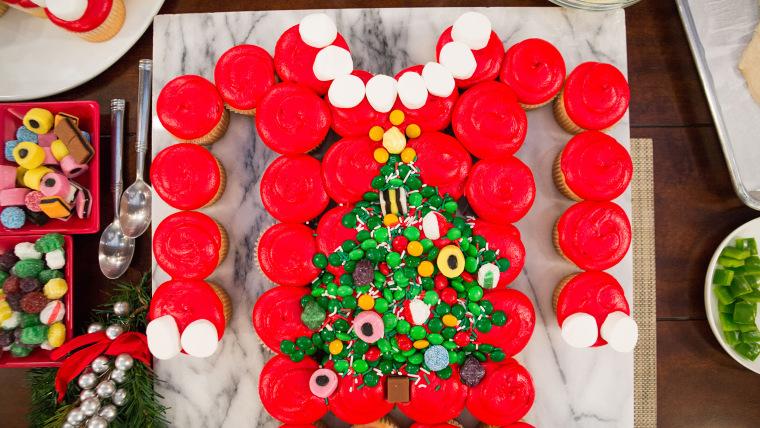 Ugly Cupcake Christmas Sweater