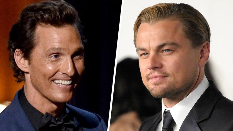 """Matthew McConaughey vs. Leonardo DiCaprio: Which would you have preferred in """"Titanic""""?"""