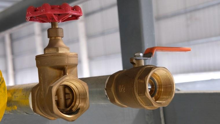 gate valve, ball valve