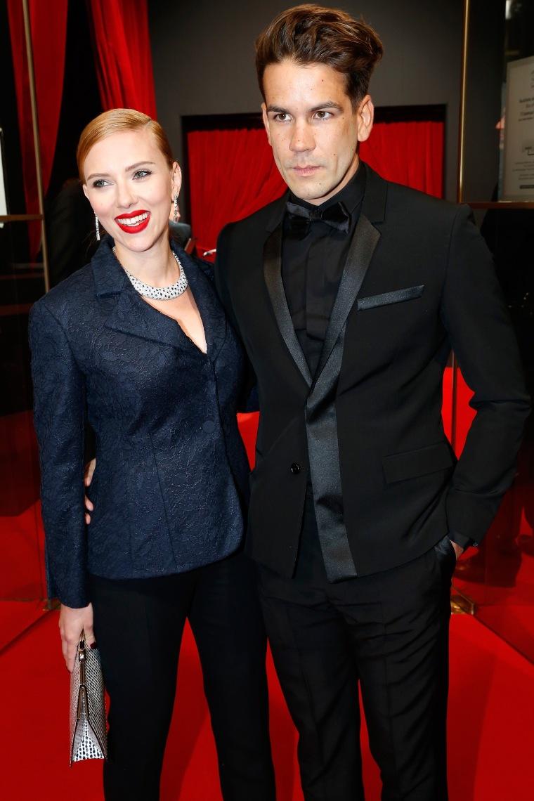 FILE: Scarlett Johansson, Roman Dauriac