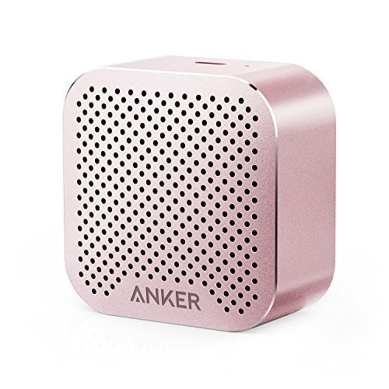 Anker speaker in pink