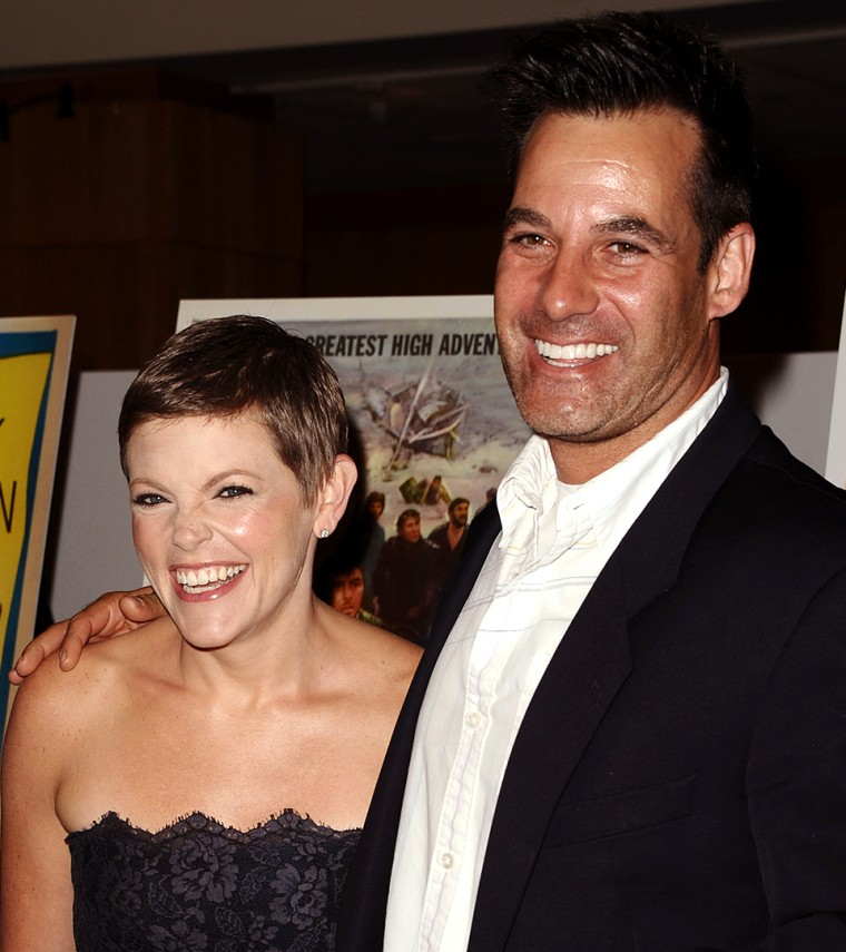 Natalie Maines and Adrian Pasdar