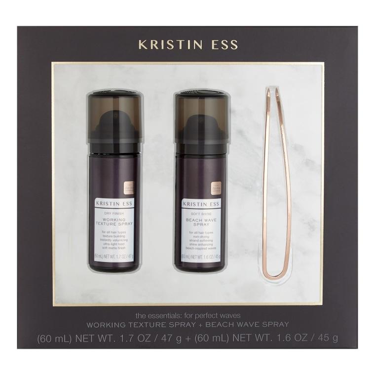 Kristin Ess Working Texture Spray + Beach Wave Spray Set