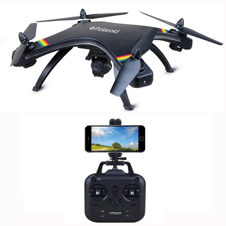 Drone by polaroid