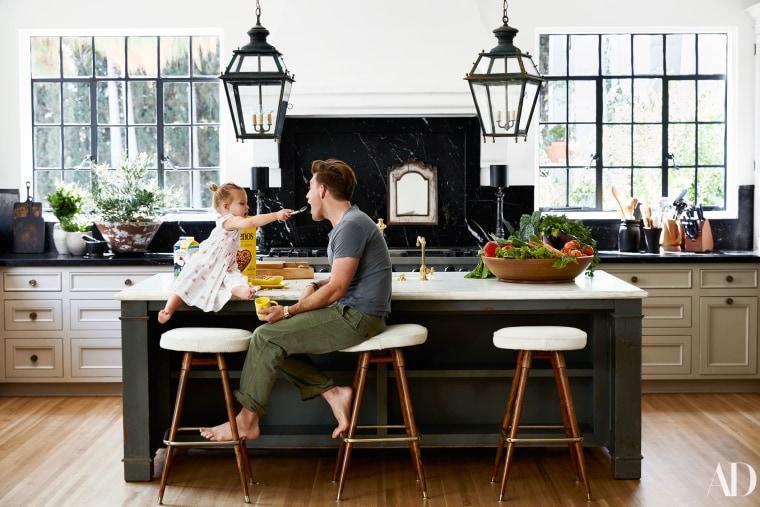 Nate Berkus' kitchen.