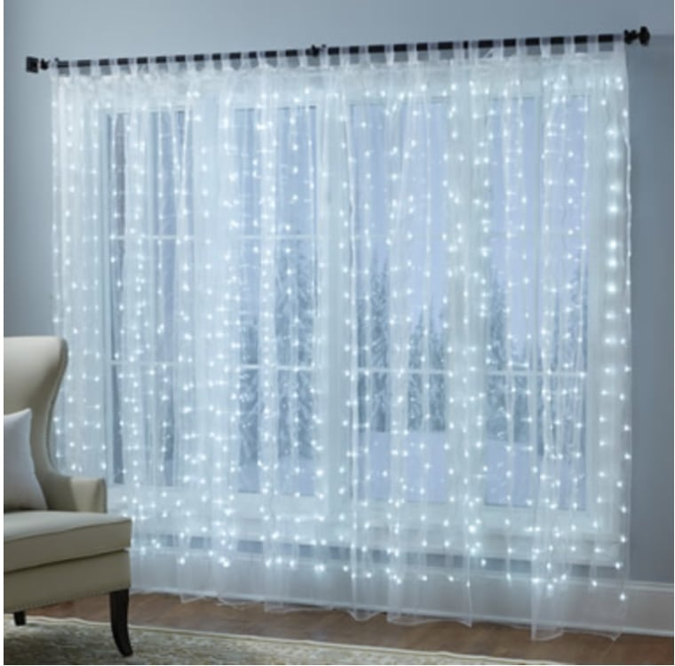 Illuminated sheers