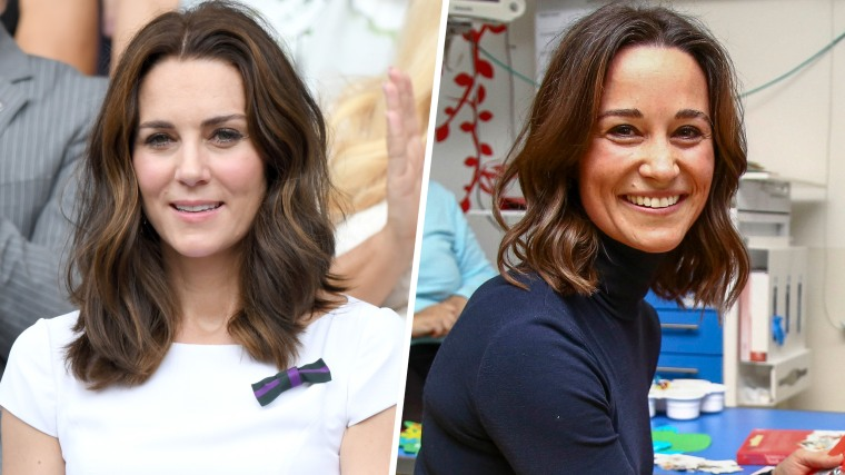 Pippa Middleton's new hair style, the lob.