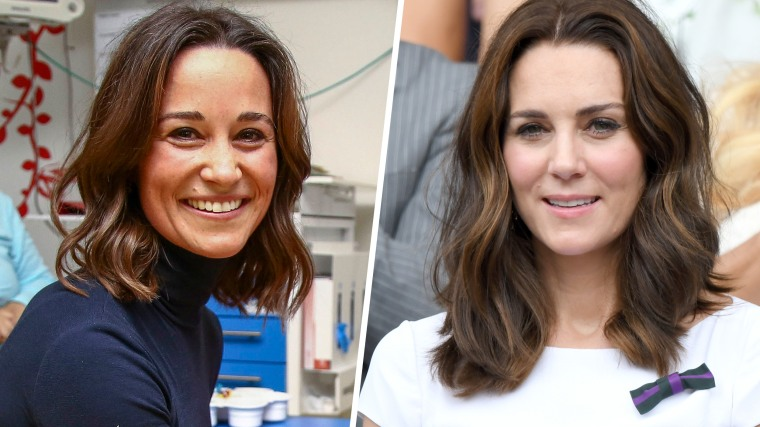 Pippa Middleton joins the lob club.