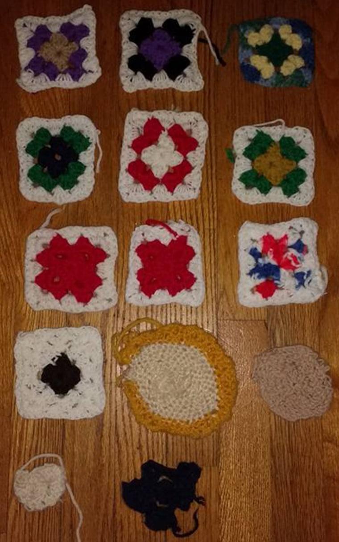 Alzheimer's crochet progect