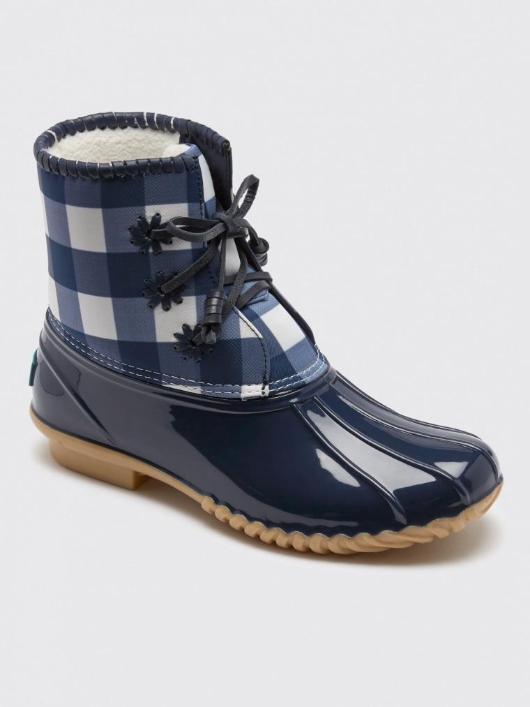 Gingham Chloe Boots