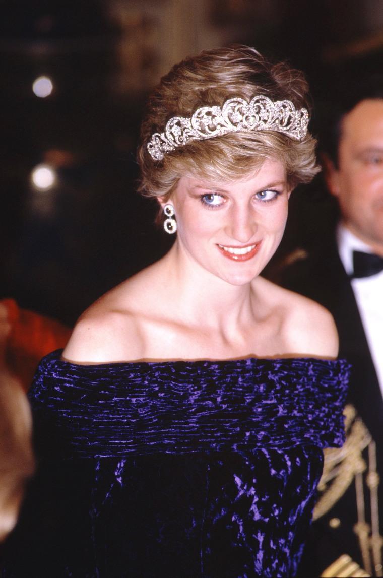 Image: Prince Charles and Princess Diana Royal Tour of Portugal - Feb 1987