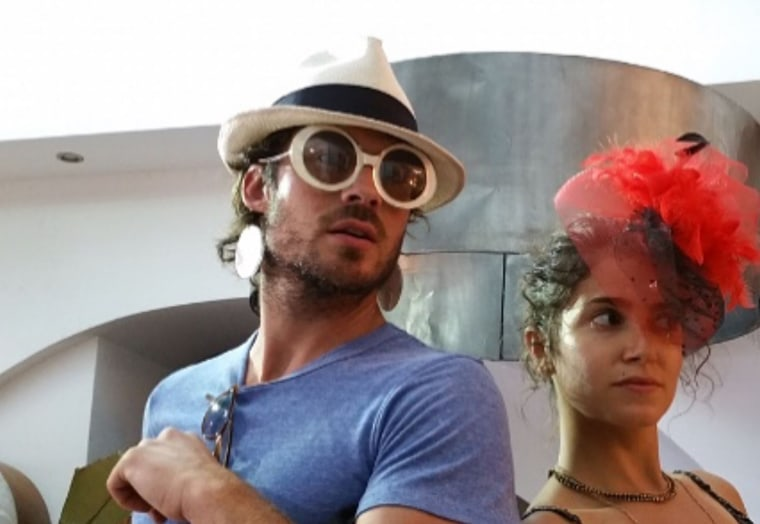 """Nikki Reed and Ian Somerhalder have life down to a beautiful science. In her birthday message to him, she wrote, """"thank you for always reminding me that only a handful of things truly matter; flossing, laughing, and not counting how many bottles of wine we went through."""""""