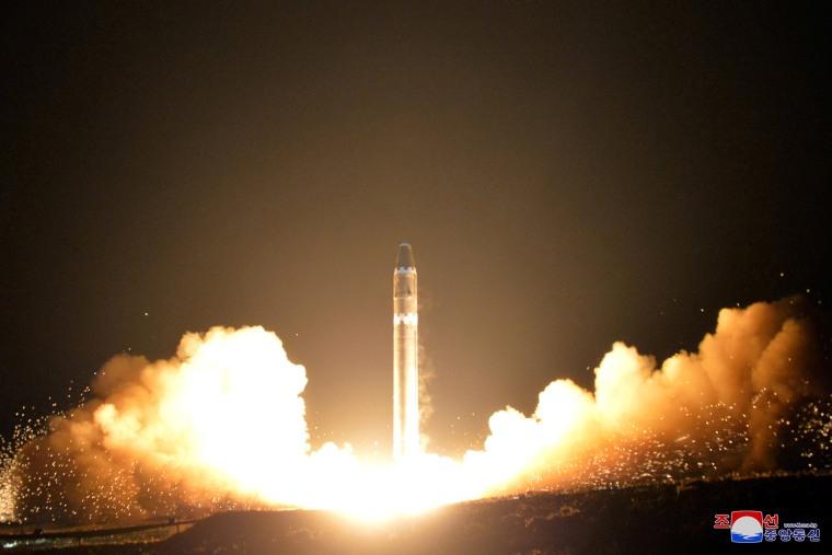 Image: Hwasong-15's test