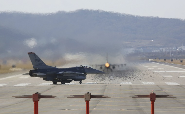 U.S. drills in South Korea trigger 'nuclear war' warning from North