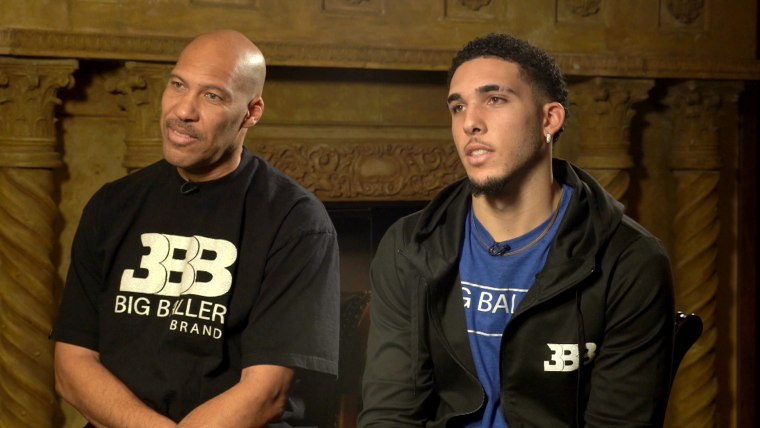 LaVar and LiAngelo Ball