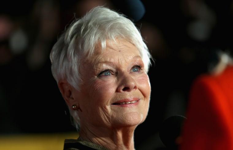 Image: Judi Dench attends a screening in London
