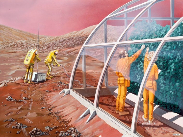 Image: Mars greenhouse