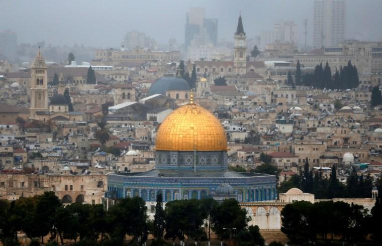 Image: The Old City of Jerusalem.