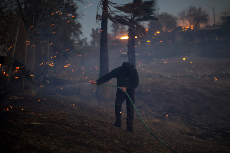 Image: BESTPIX - Southern California Wildfires Forces Thousands to Evacuate