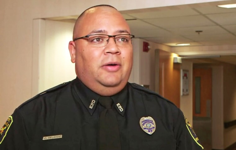Image: Omar Delgado, one of the first police officers to respond to the Pulse nightclub massacre is losing his job with only months to go before he's entitled to full pension benefits.