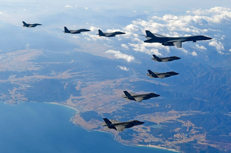 Image: South Korea And US Air Force War Games