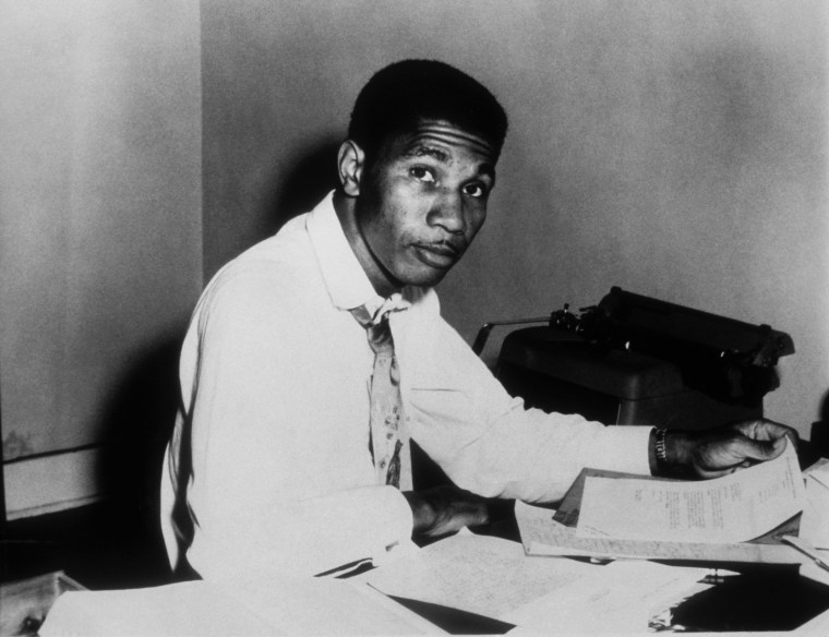 Image: Civil Rights Activist and NAACP Field Secretary Medgar Evers poses for a portrait circa 1960 in Jackson, Mississippi.