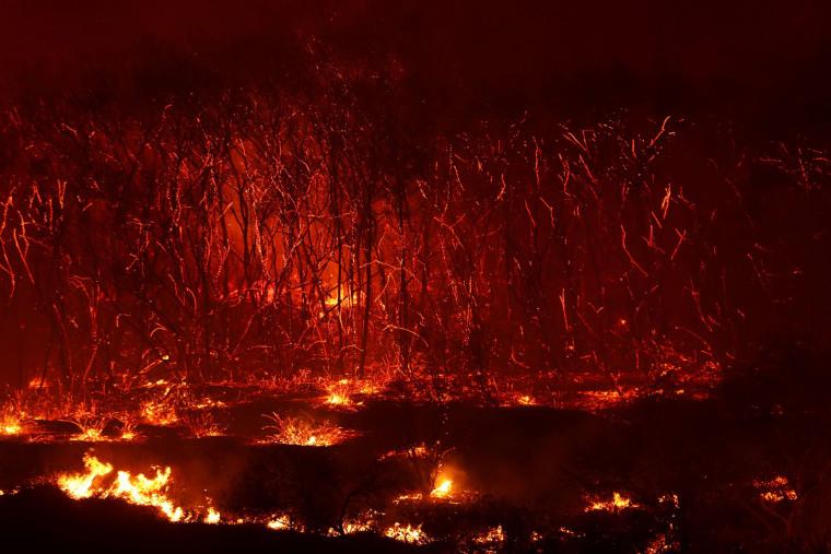 California Wildfires: Lilac fire tears through San Diego County