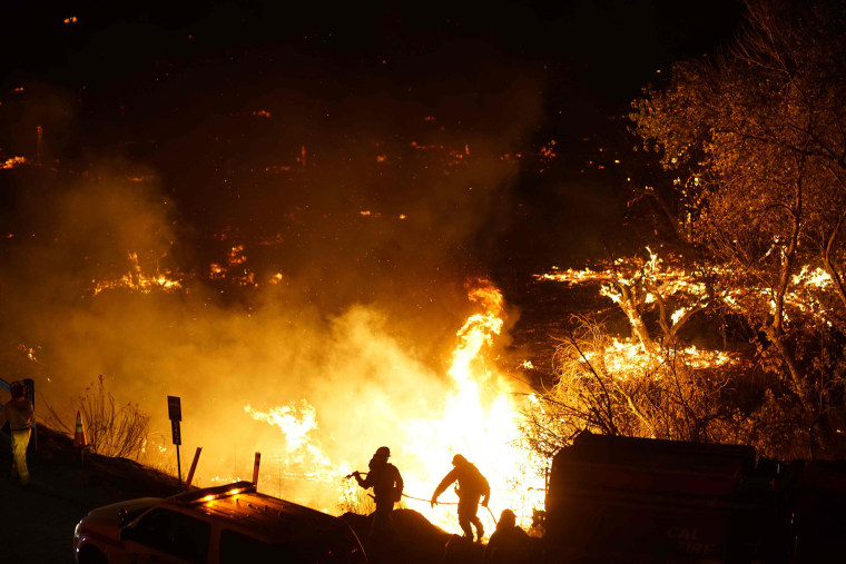 Image: Lilac Fire in San Diego