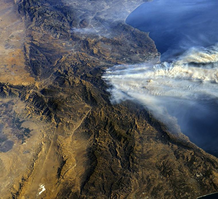 Image: California wildfires