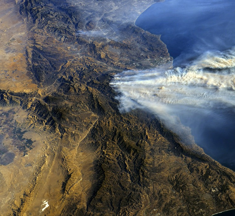 Image: California wildfires