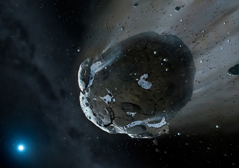 Image: Asteroid Illustration