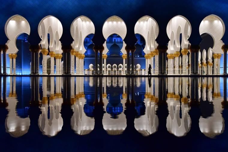 Image: TOPSHOT-UAE-RELIGION-ISLAM-MOSQUE