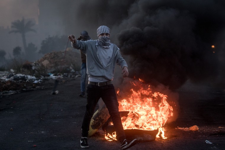 Image: Protests Continue into Fourth Day Across Jerusalem and the West Bank