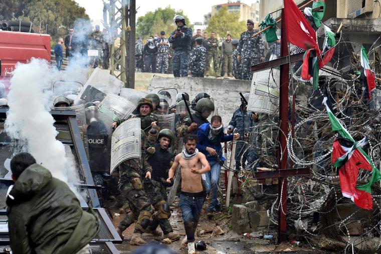 Image: Lebanese protest