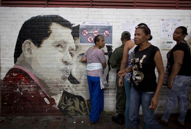 Image: Election in Venezuela